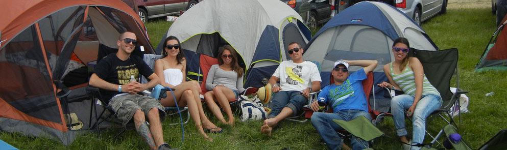 Sasquatch Camping