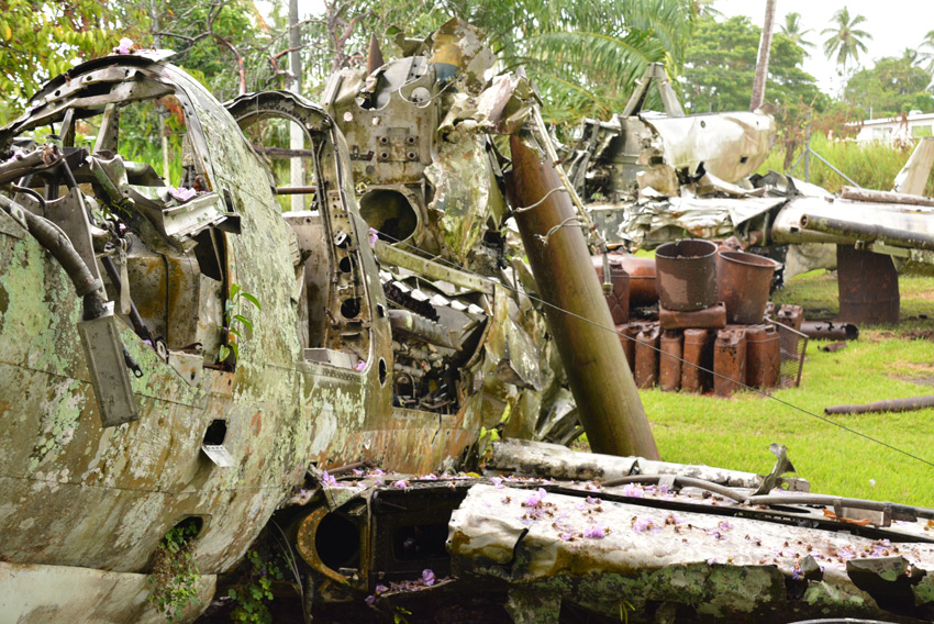 This World Rocks Guadalcanal: The Disappearing Battlefield