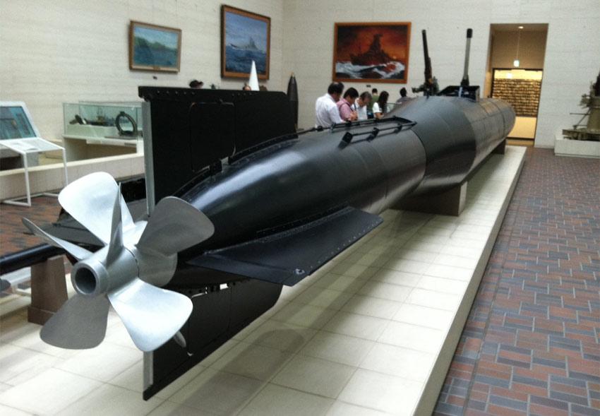 human-torpedo