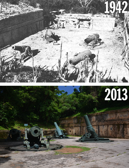 Battery Way: Then and Now