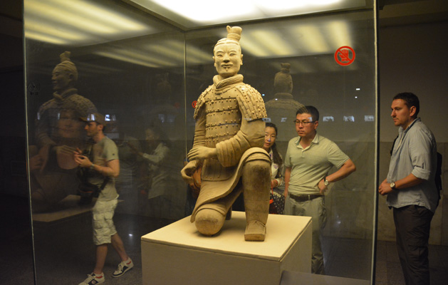 The ORIGINAL Terracotta Warrior.  The only warrior to ever be found completely intact was also the first one found.  AMAZING!