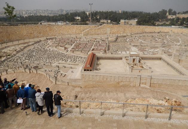 Model of Jerusalem in 66 AD