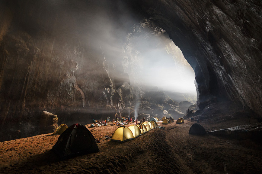 cave-camping