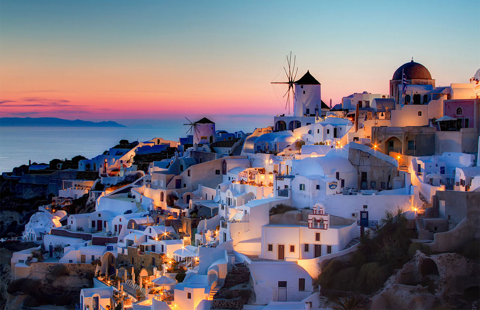 sunset-on-santorini