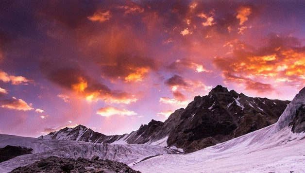 A_Sunrise_on_Kalindi_mountain_Himalayas_Uttarakhand_India